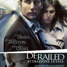 La locandina italiana di Derailed Attrazione Letale