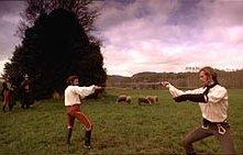 Una scena del dramma I duellanti