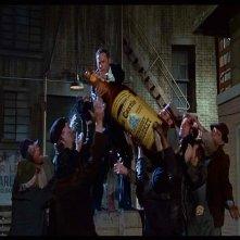 Mel Brooks in una scena de L'ULTIMA FOLLIA DI MEL BROOKS