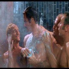 Mel Brooks, Marty Feldman, Dom DeLuise e Burt Reynolds in una scena de L'ULTIMA FOLLIA DI MEL BROOKS