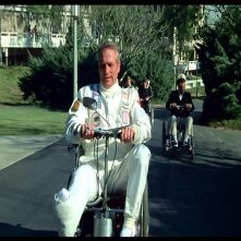 Paul Newman, Mel Brooks, Marty Feldman e Dom DeLuise in una scena de L'ULTIMA FOLLIA DI MEL BROOKS