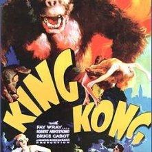 Una delle locandine originali di KING KONG