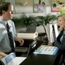 Kristen Bell e Joss Whedon in una scena del sesto episodio della seconda stagione di Veronica Mars