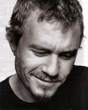 una dolce espressione di Heath Ledger