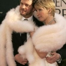 Colin Firth con Emma Thompson