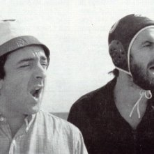 Nanni Moretti e Silvio Orlando in Palombella rossa