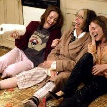 Rachel McAdams, Diane Keaton e Sarah Jessica Parker in La neve nel cuore