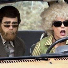 Un bizzarro travestimento per Carrey e la Leoni in Dick & Jane Operazione Furto
