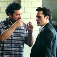 James Mangold e Joaquin Phoenix sul set di Walk the Line