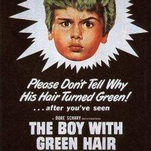 La locandina di Il ragazzo dai capelli verdi