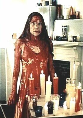 Sissy Spacek in una scena di Carrie
