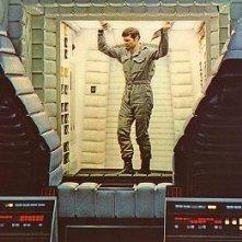 Gary Lockwood sul set di 2001: Odissea nello spazio