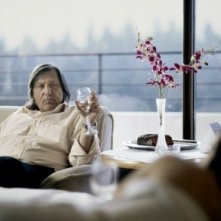 Ilie Nastase in una scena del film Windows on Monday