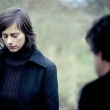Isabelle Menke in una scena del film Windows on Monday