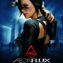 La locandina italiana di Aeon Flux