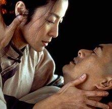 Una sequenza romantica de La tigre e il dragone