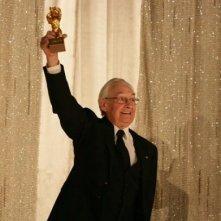 Andrzej Wajda premiato a Berlino 2006 con l'Orso d'Oro alla carriera