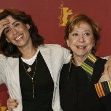 Fernanda Torres e Fernanda Montenegro a Berlino 2006 per presentare House of Sand