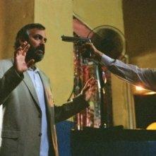 George Clooney in una scena del film Syriana