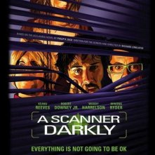La locandina di A Scanner Darkly
