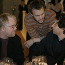 Philip Seymour Hoffman, Heath Ledger e Bennett Miller a Berlino 2006