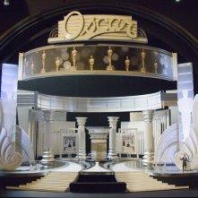 L'allestimento del palcoscenico al Kodak Theater di Los Angeles per la 78a edizione degli Academy Awards