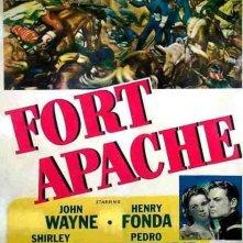 La locandina di Il massacro di Fort Apache