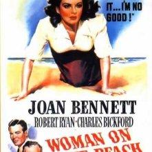 La locandina di La donna della spiaggia