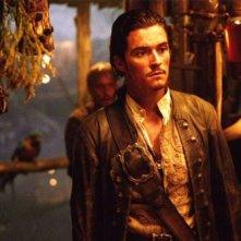 Orlando Bloom in Pirati dei Caraibi - La maledizione del forziere fantasma
