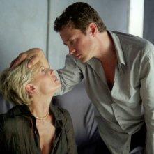 Alessio Boni e Isabella Ferrari in una scena di Arrivederci amore ciao