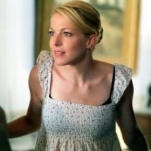 Claudia Gerini  in una scena de La terra (2006)