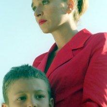 Valeria Golino con Marco Grieco in una scena de La guerra di Mario