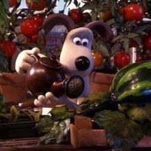 una immagine di Wallace & Gromit: La maledizione del coniglio mannaro