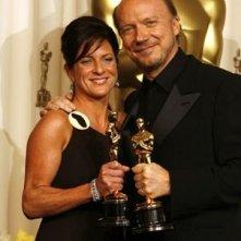 Cathy Schulman e Paul Haggis premiati per Crash