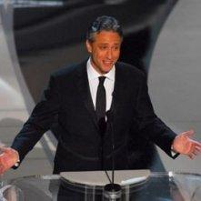 Il presentatore della serata Jon Stewart
