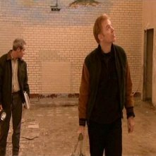 Peter Mullan e David Caruso in una scena di SESSION 9
