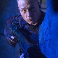 Ben Daniels in una scena di Doom