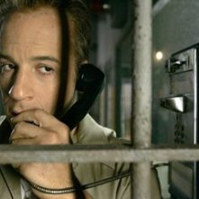 Primo piano di Vin Diesel in Find Me Guilty