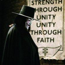 Hugo Weaving nel film V for Vendetta