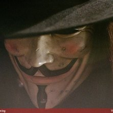 Hugo Weaving in V for Vendetta, del 2005
