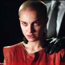 Natalie Portman rasata a zero in V for Vendetta