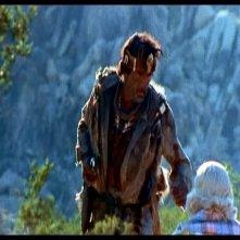 James Whitworth e Virginia Vincent in una scena di LE COLLINE HANNO GLI OCCHI