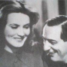 Greta Garbo e Ernst Lubitsch in una pausa di NINOTCHKA