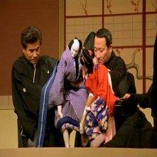 Una scena di DOLLS di Takeshi Kitano