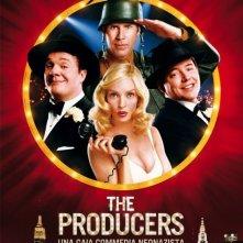 La locandina italiana di The Producers
