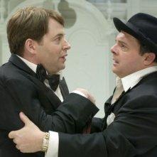 Matthew Broderick e Nathan Lane in una scena di The Producers
