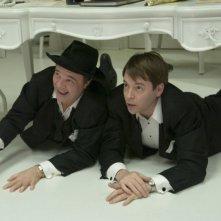 Nathan Lane e Matthew Broderick in una scena di The Producers