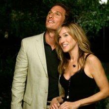 Matthew McConaughey e Sarah Jessica Parker in A casa con i suoi