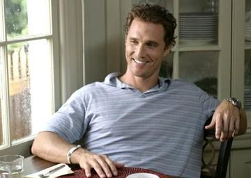 Matthew McConaughey in A casa con i suoi