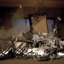 Una scena de Il caimano, diretto da Nanni Moretti